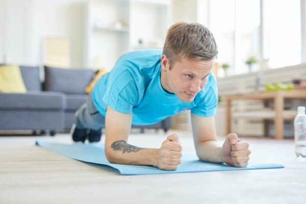 Home exercising
